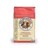Grocery - Flour - King Arthur - King Arthur Organic Artisan All-Purpose Flour 5 lbs (6 Pack)