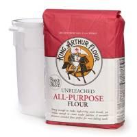 Grocery - Flour - King Arthur - King Arthur Unbleached All Purpose Flour 5 lbs (8 Pack)