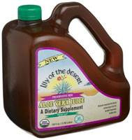 Grocery - Beverages - Lily Of The Desert - Lily Of The Desert Aloe Vera Juice Preservative Free 128 oz