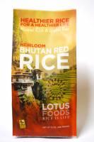 Lotus Foods Bhutamese Red Rice 22 lbs