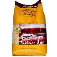 Vegan - Grains - Lotus Foods - Lotus Foods Brown Jasmine Rice 25 lbs