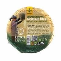 Vegan - Grains - Lotus Foods - Lotus Foods Jasmine Brown Rice Bowl 7.4 oz (6 Pack)