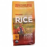 Gluten Free - Grains - Lotus Foods - Lotus Foods Organic Madagascar Pink Rice 11 lbs