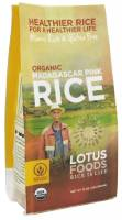 Gluten Free - Grains - Lotus Foods - Lotus Foods Organic Madagascar Pink Rice 15 oz (6 Pack)