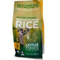 Vegan - Grains - Lotus Foods - Lotus Foods Organic Mekon Flower Brown Rice 15 oz (6 Pack)