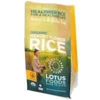 Vegan - Grains - Lotus Foods - Lotus Foods Organic Mekong Flower Rice 15 oz (6 Pack)