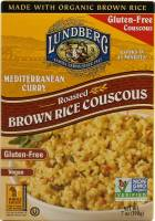 Lundberg Farms - Lundberg Farms Curry Brown Rice Couscous 7 oz (6 Pack)