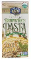 Vegan - Grains - Lundberg Farms - Lundberg Farms Garlic & Olive Oil Brown Rice Pasta (6 Pack)