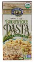 Lundberg Farms - Lundberg Farms Leek & Mushroom Brown Rice Pasta 4.5 oz (6 Pack)