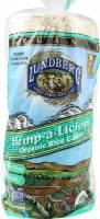 Lundberg Farms Organic Hemp Brown Rice Cakes 9.4 oz (6 Pack)
