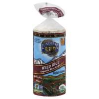 Lundberg Farms Organic Salted Wild Rice Cakes 6 oz (6 Pack)