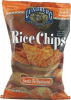 Grocery - Chips - Lundberg Farms - Lundberg Farms Organic Santa Fe Barbecue Rice Chips 1.5 oz (6 Pack)