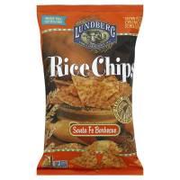 Lundberg Farms - Lundberg Farms Organic Santa Fe Barbecue Rice Chips 6 oz (6 Pack)
