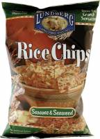 Lundberg Farms - Lundberg Farms Organic Sesame Seaweed Rice Chips 6 oz (6 Pack)