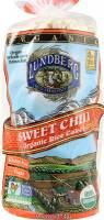 Lundberg Farms Organic Sweet Chili Brown Rice Cakes 9.6 oz (6 Pack)