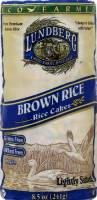Lundberg Farms Salted Brown Rice Cakes 8.5 oz (6 Pack)