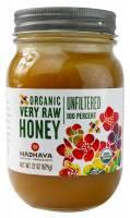 Grocery - Sweeteners & Sugar Substitutes  - Madhava Honey - Madhava Honey Organic Raw Honey 22 oz (6 Pack)