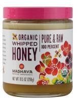 Grocery - Sweeteners & Sugar Substitutes  - Madhava Honey - Madhava Honey Organic Whipped Honey 10.5 oz (6 Pack)