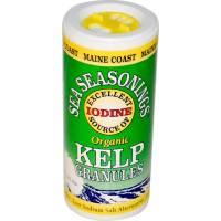 Grocery - Sea Vegetables - Maine Coast - Maine Coast Organic Kelp Granules Seasoning 1.5 oz (6 Pack)