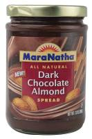 Grocery - Nuts & Seed Butters - Maranatha Natural Foods - Maranatha Natural Foods Almond Spread 12 oz - Dark Chocolate (6 Pack)