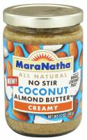 Grocery - Nuts & Seed Butters - Maranatha Natural Foods - Maranatha Natural Foods No Stir Almond Butter 16 oz - Coconut (6 Pack)