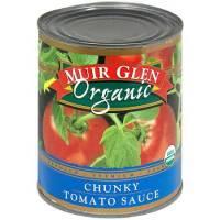 Grocery - Sauces - Muir Glen - Muir Glen Organic Chunky Tomato Sauce 28 oz (12 Pack)