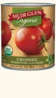 Muir Glen - Muir Glen Organic Crushed Tomatoes With Basil 28 oz (12 Pack)