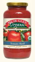 Muir Glen Organic Pasta Sauce 25.5 oz - Tomatoes Basil (12 Pack)