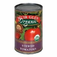 Muir Glen Organic Stewed Tomatoes 14.5 oz (12 Pack)
