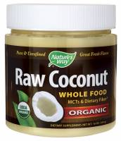 Gluten Free - Sauces & Spreads - Nature's Way - Nature Way Raw Coconut Whole Food Organic 16 oz