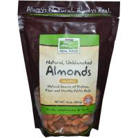 Now Foods - Now Foods Almonds Natural Unblanched 1 lb