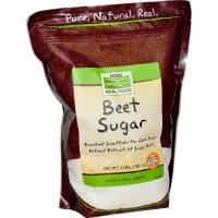 Grocery - Sweeteners & Sugar Substitutes  - Now Foods - Now Foods Beet Sugar 3 lb
