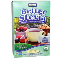 Now Foods - Now Foods BetterStevia Organic 75 Packets