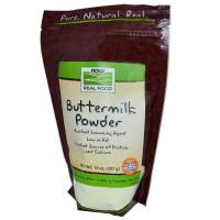 Grocery - Baking Mixes & Extracts - Now Foods - Now Foods Buttermilk Powder 14 oz