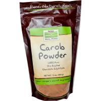 Grocery - Baking Mixes & Extracts - Now Foods - Now Foods Carob Powder Roasted 12 oz