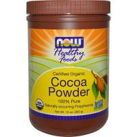 Grocery - Baking Mixes & Extracts - Now Foods - Now Foods Cocoa Powder Certified Organic 12 oz