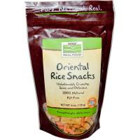 Grocery - Crackers - Now Foods - Now Foods Oriental Rice Snacks  oz