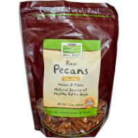 Grocery - Nuts & Seeds - Now Foods - Now Foods Pecans 12 oz