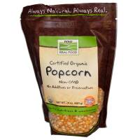 Grocery - Nuts & Seeds - Now Foods - Now Foods Popcorn Certified Organic 24 oz