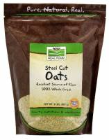 Grocery - Nuts & Seeds - Now Foods - Now Foods Steel Cut Oats 2 lb