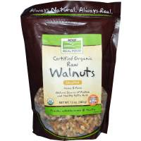 Grocery - Nuts & Seeds - Now Foods - Now Foods Walnuts Certified Organic 12 oz