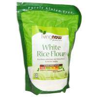 Grocery - Baking Mixes & Extracts - Now Foods - Now Foods White Rice Flour - 32 oz
