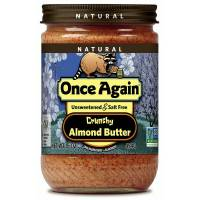 Grocery - Nuts & Seed Butters - Once Again - Once Again Almond Butter 16 oz - Crunchy No Sodium (6 Pack)