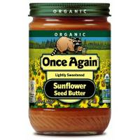 Grocery - Nuts & Seed Butters - Once Again - Once Again Organic Sunflower Butter 16 oz - Creamy (6 Pack)