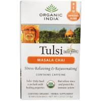 Organic India - Organic India Tulsi Tea Chai Masala w/Caffeine 18 bag