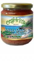 Organicville Organic Agave Salsa 16 oz - Mild (6 Pack)