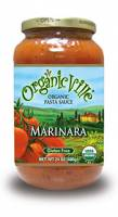 Organicville Organic Pasta Sauce 24 oz - Marinara (12 Pack)