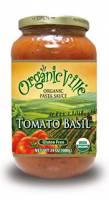 Organicville Organic Pasta Sauce 24 oz - Tomato & Basil (12 Pack)