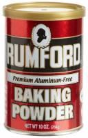 Gluten Free - Flour - Rumford - Rumford Baking Powder 8.1 oz