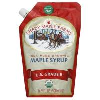 Shady Maple Farms - Shady Maple Farms Organic Grade B Smart Sak Maple Syrup 16.9 oz (6 Pack)
